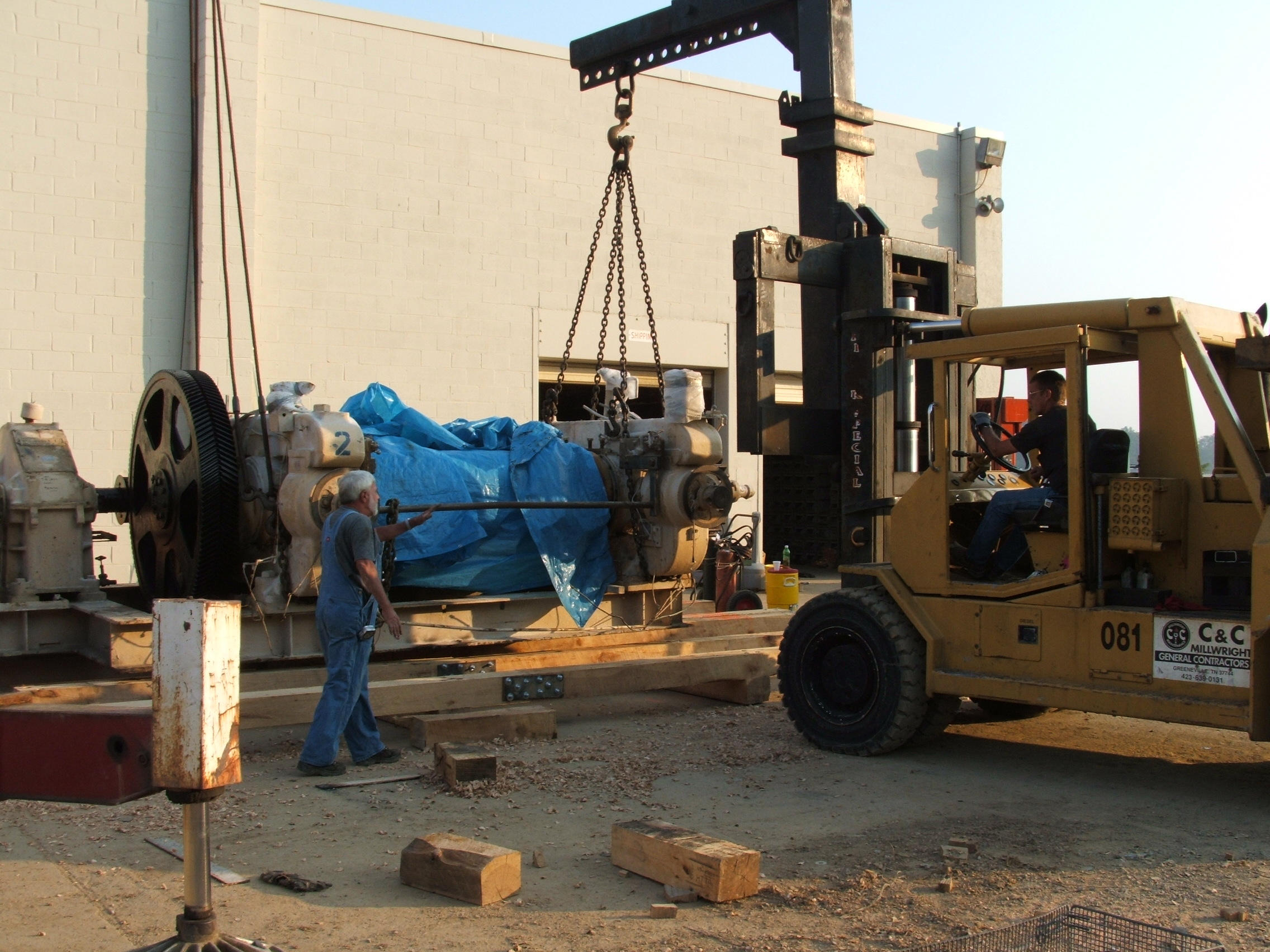 Services Machinery Preparation