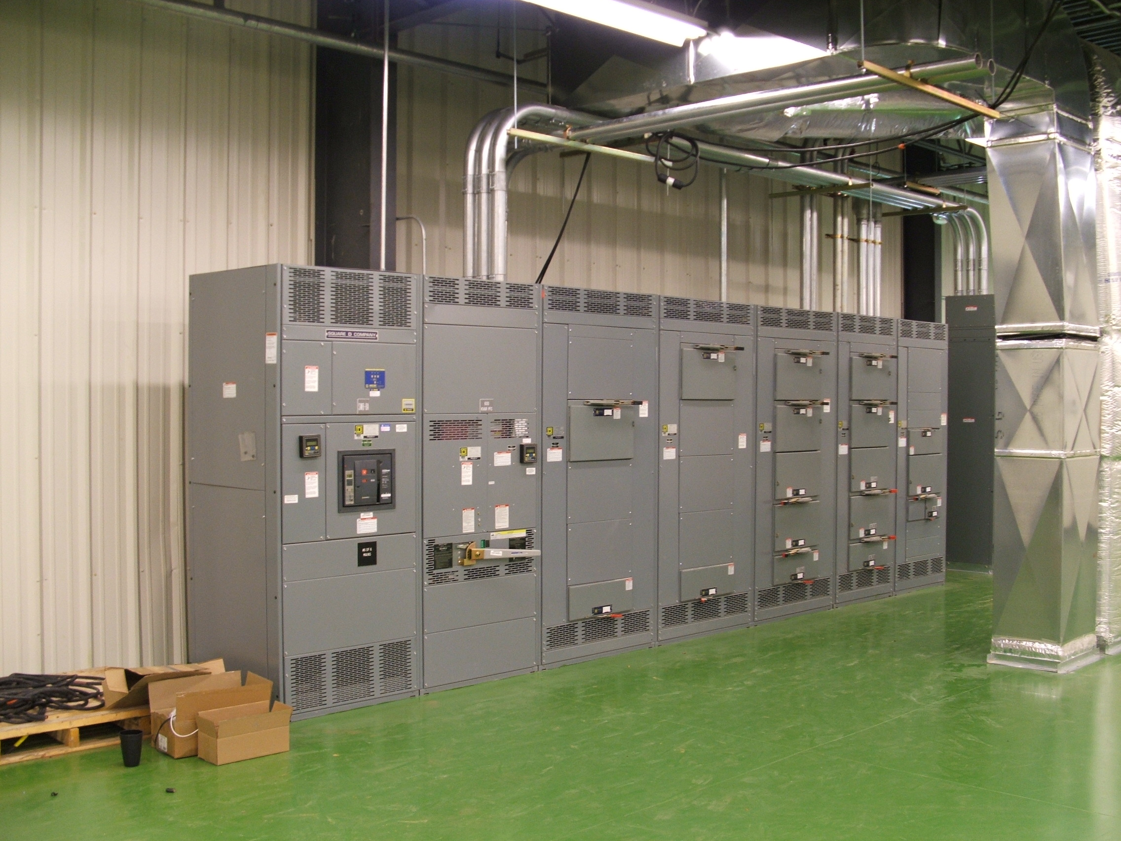 DTR Electrical Panel Image
