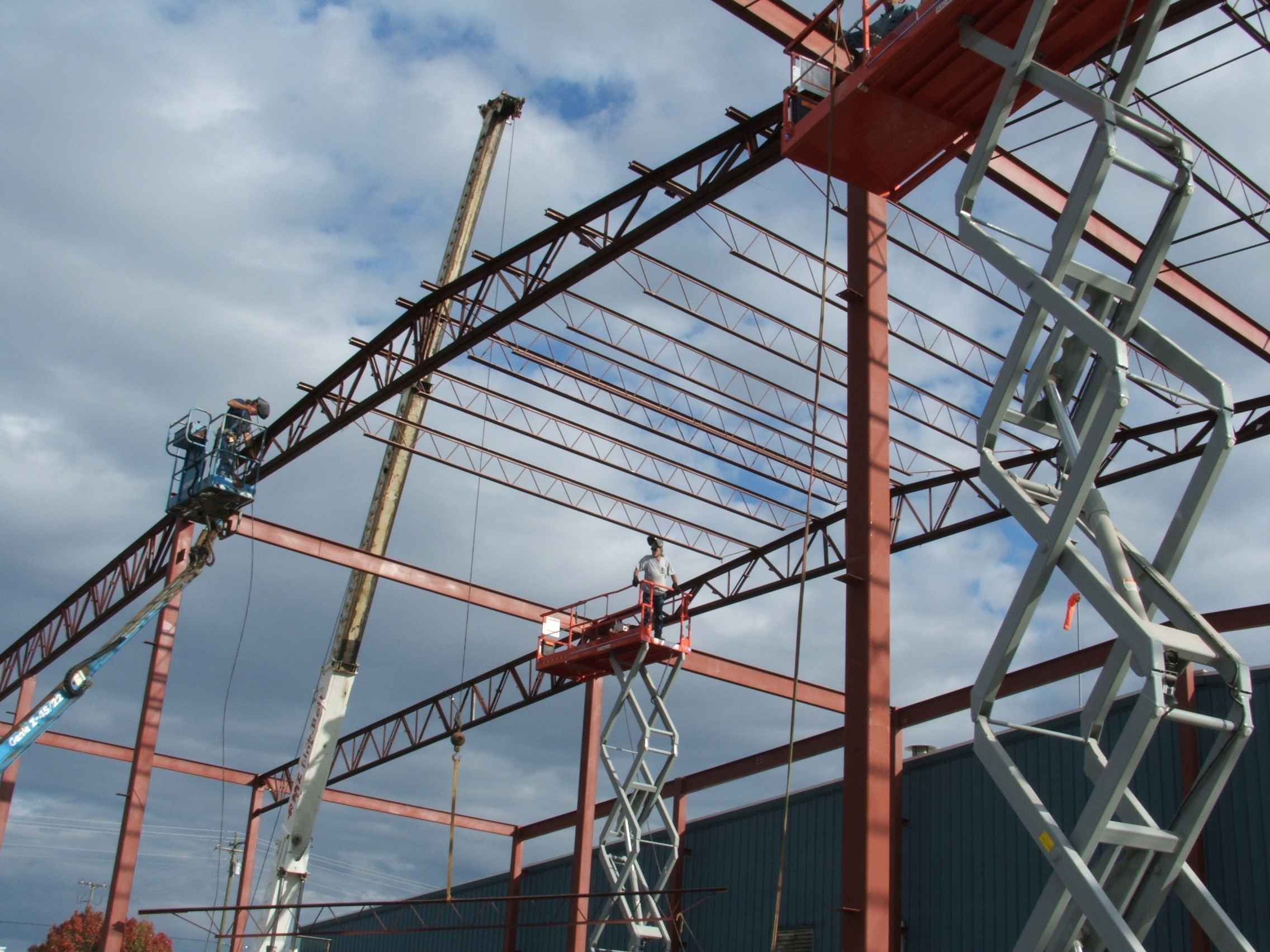 Service Steel Erection Fabrication